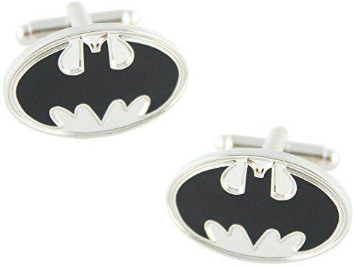 MasGemelos - Gemelos Batman Plateado Cufflinks