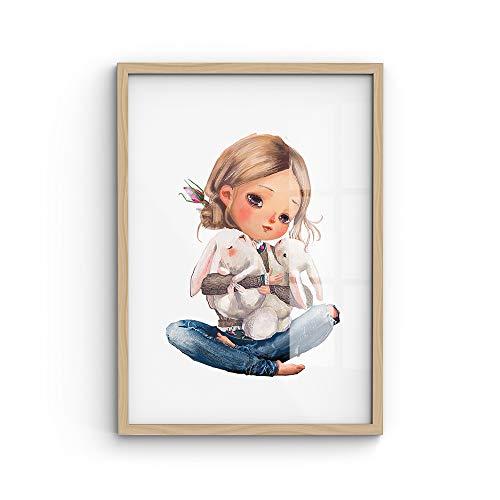 malango® A4-Poster Freunde - viele Motive wählbar - ohne Rahmen | Kinderposter, Kids, Wanddekoration, Wanddeko, Kinderzimmer
