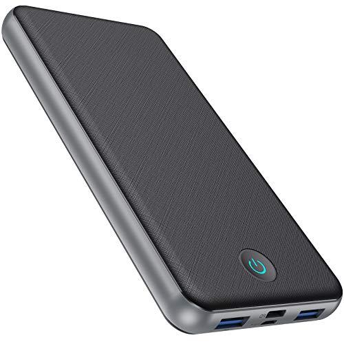 モバイルバッテリー 大容量 Type-C入出力ポート  18W急速充電   PD&QC3.0対応 26800mAh 携帯充電器 薄型 3台同時充電 PSE認証済 持ち運び バッテリー iPhone12 iPad Android各機種に対応
