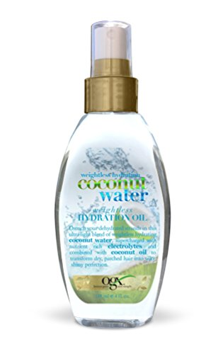 OGX Coconut Water Weightless Hydration Oil, 1er Pack (1 x 118 ml)