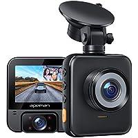Apeman Dual Dash Cam with 2K Front & 1080p Rear Cameras