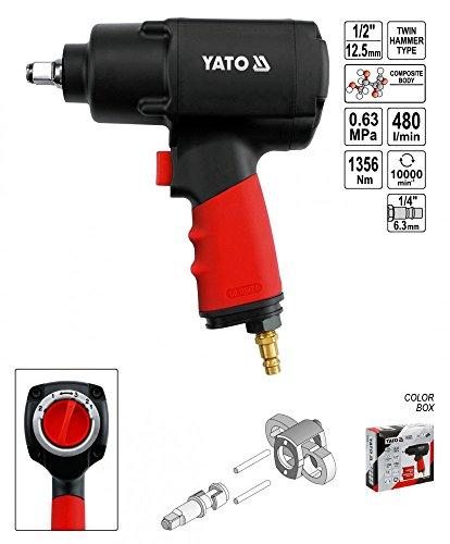 'Yato YT-0953 – Clé d'air de 1/2 1356 Nm