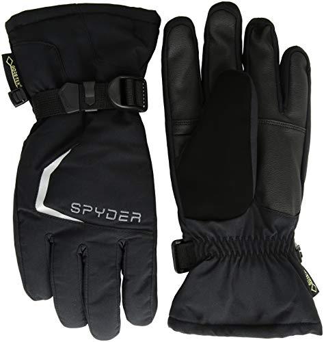 Spyder Propulsion Skihandschuhe für Herren, Schwarz/Schwarz/Schwarz, Größe S