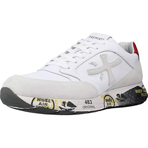 Premiata Calzado Deportivo ZACZAC 4555 para Hombre Blanco 41 EU