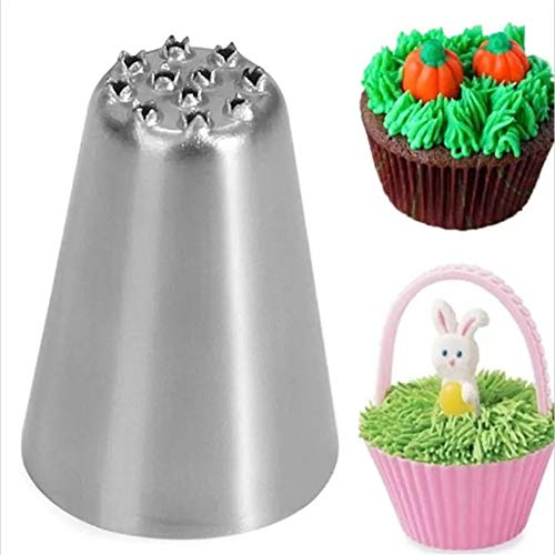 YUEKUN Dekorieren Mund Set Edelstahl Butter Cookie Dekorieren Mund Kuchen Dessert Dim Sum Keks Backwerkzeuge Küchenbedarf Dekorieren Mund