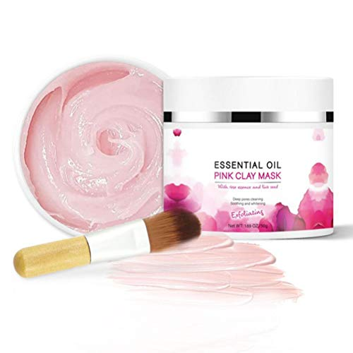 SFNTION Aztec Secret - Indian Healing Clay 1 LB. (450 Grams) - Deep Pore Cleansing Facial & Body Mask - L'Originale argilla bentonite di Calcio 100% Naturale - Nuova versione 2