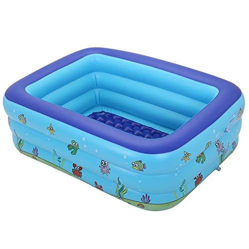 De espesor de PVC resistente al desgaste plegable piscina inflable, piscina grande, conveniente for 1 a 7 personas En verano, Familia Fiesta del Agua Interactivo Hijos Adultos Piscina, conveniente for