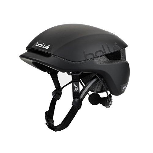 bollé Erwachsene Messenger Premium Cycling Helmets, Hivis Black Matte, Medium 54-58 cm
