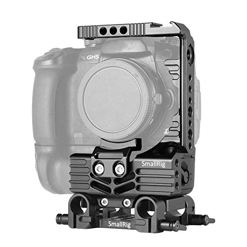 SmallRig Advanced Half Cage Kit for Panasonic Lumix GH5 with Battery Grip 2024