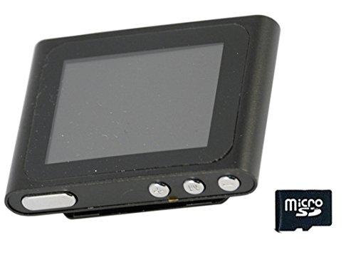"""Xtreme 27702 Lettore MP 4/MP 3 con Schermo da 1.8"""", Completo di MicroSD da 8 GB, Cavo Dati e Auricolare"""