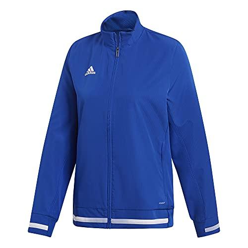 adidas Team 19 Woven Jacket-Women's Multi-Sport L Team Royal/White