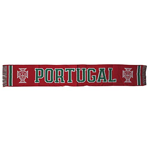 FPF Official Portugal Soccer National Team Red Scarf