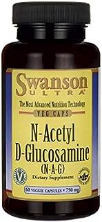 Swanson N-Acetyl D-Glucosamine (N-A-G) 750 Milligrams 60 Veg Capsules