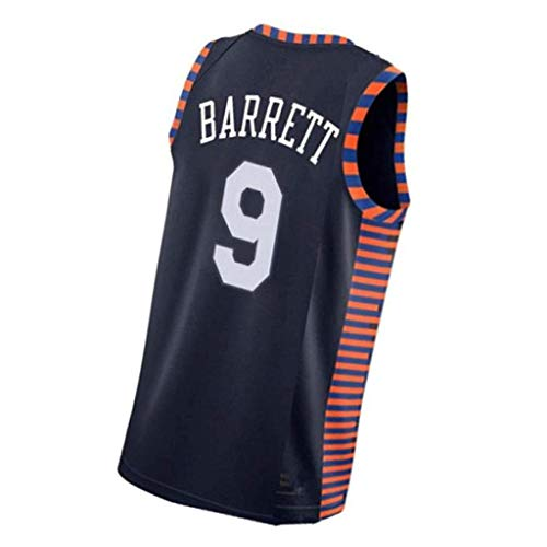 RJ Barrett # 9 New York Knicks Trikot Männer Student Sportswear Trikots Uniformen Schweiß absorbierende Männer Sport T-Shirts echte Geschenke-3-XL