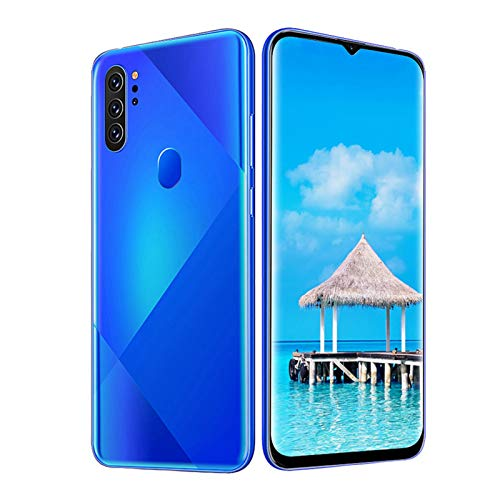 Mobile Phone MIQOO M80 Blue Metal Fingerprint Face Unlock 6,7-Zoll-Drop-Screen Dual-Karten Dual-Standby-Smartphone 6 + 64G 100-240 V Preis AU