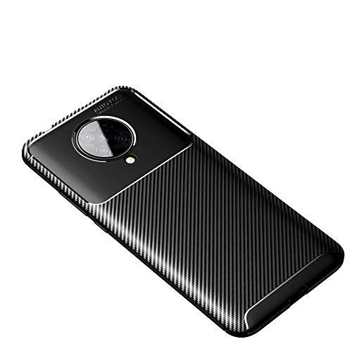 Haoye Passend für Xiaomi Poco F2 Pro Hülle, Elegantes Design Gleichzeitig Robust, Has a 360 Grad Schock Kratz Stoßfänger Schutzschicht. Schwarz