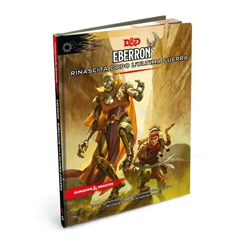 Asmodee - Dungeons&Dragons, Quinta edición: Eberron, módulo de ambientación, edición en Italiano, 4060