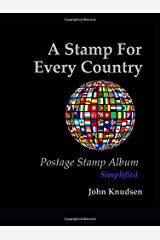 A Stamp For Every Country: Postage Stamp Album - Simplified Hardcover