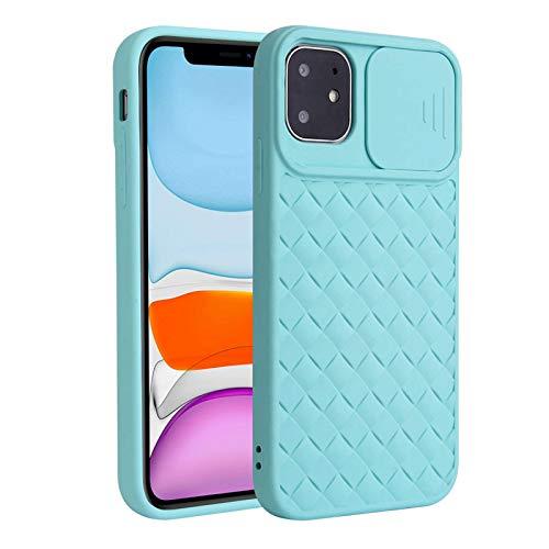 Fadter Funda para iPhone 12 Mini con protección de cámara, carcasa de silicona para teléfono móvil, 360 grados, suave, para iPhone 12 Mini (6)