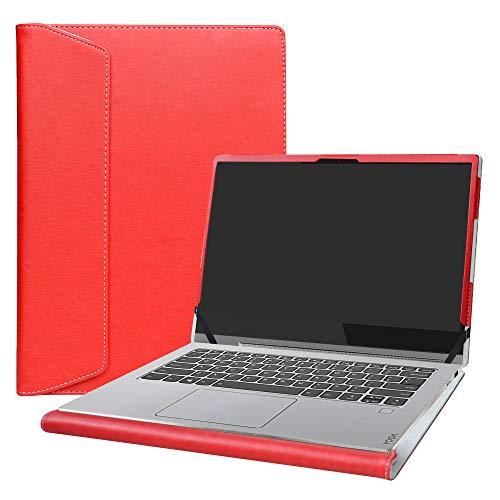 Alapmk Diseñado Especialmente La Funda Protectora para 14' Lenovo Yoga C930 C930-13IKB & Lenovo ideapad S540 14 S540-14IWL S540-14API Laptop(Not fit Lenovo Yoga Book C930),Rojo