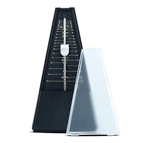 Banane Triangle Mechanisches Metronom für Klavier, Gitarre, Trommel, Bass, und andere Instrumente, hohe Genauigkeit Tempo Track Tempo & Beat, Instrument allgemeine Zweck robust Schwarz