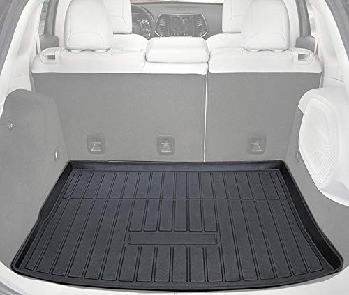 Cargo Liner Rear Cargo Tray Trunk Floor Mat Waterproof Protector Compatible with 2014-2018 Jeep...