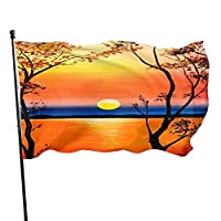 Tuposuanimation Printing 3x5 Foot Flags Outdoor Flag Single-Layer Translucent Polyester 3x5 Ft
