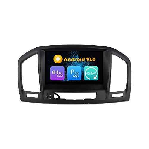 Android 9.0 Estéreo DVD Ram 4G 64G ROM Autorradio GPS Navegación Radio porOpel Insignia (2008-2012)