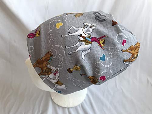 Mütze Bibi und Tina auf grau 46-50