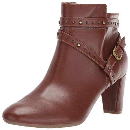 Aerosoles Womens Octave Ankle Boot, Dark TAN, 8.5 M US