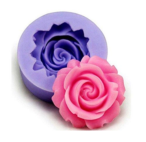 Moule Silicone petite Rose 3,5cm Fleur Pâtisserie Gâteau Décoration Sucre