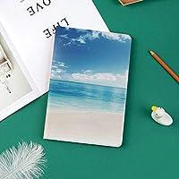 カスタム iPad Pro 11 2018 ケース (2018新モデル) マグネットス吸着式 オートスリープ機能晴れた日のカリブ海からのゴールデンビーチの眺めエキゾチックな夏のイメージ印刷