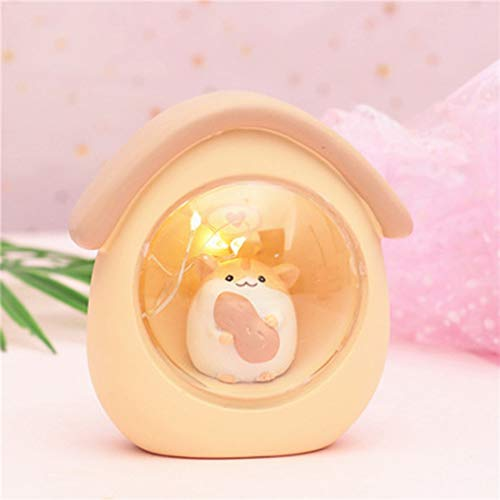 HBGGGG creatieve verlichting tafellamp LED dromenvanger Unicorn nachtlampje hars lamp ambachtelijk hoge helderheid 3 batterijkralen aangedreven knop geschikt voor kamers en bars