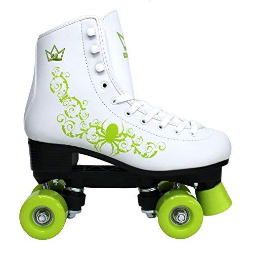 Kingdom Vector Quad patines de ruedas, Mujer, verde limón