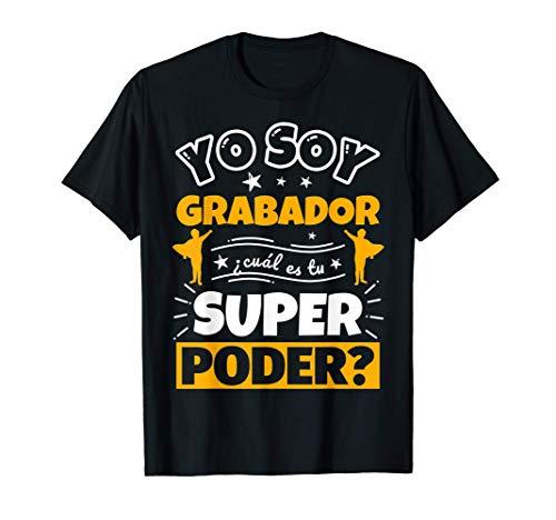 Grabador regalo divertido con decir Camiseta
