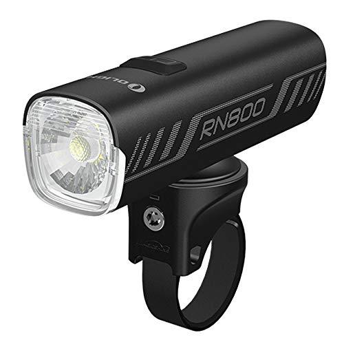 Tidusky OLIGHT RN 800 - Luz para bicicleta (800 lúmenes, LED, IPX6, impermeable, multifuncional, carga rápida, USB-C para bicicleta, con caja de batería)