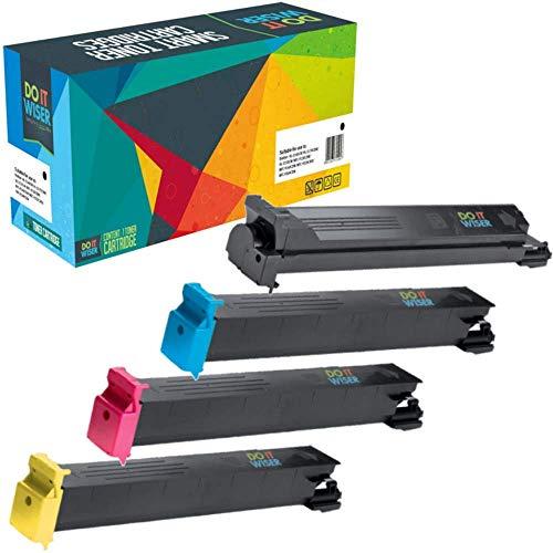 Doitwiser® Konica Minolta Magicolor 745074007450ii GA Toner Compatibles, color Set