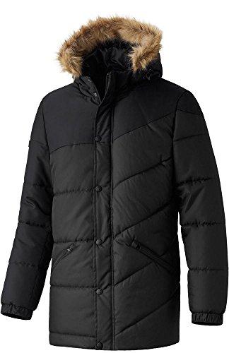 erima Erwachsene Jacke Premium One Winterjacke, Schwarz, S