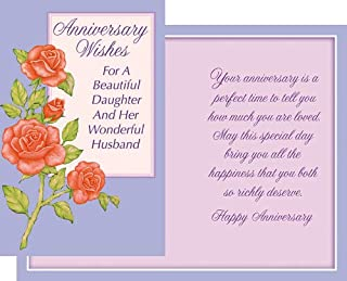Best 25th wedding anniversary daughter and son in law Reviews