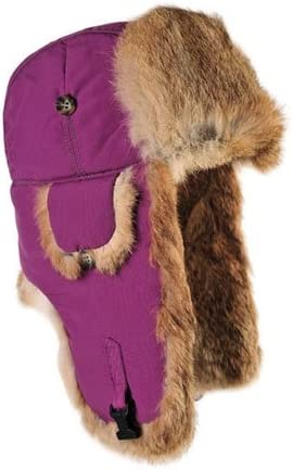 Mad Bomber Original Wine Nylon Aviator Pilot Rabbit Hat Real trend rank Fur Cheap sale