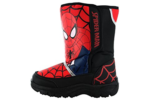 Spiderman Bottes de Neige Garçons - Rouge - Uk7 Eur24