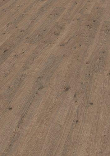 EGGER Home Laminat dunkel braun Holzoptik - Murom Eiche natur EHL053 (8mm, 1,985m²) Klick Laminatboden | Bodenbelag