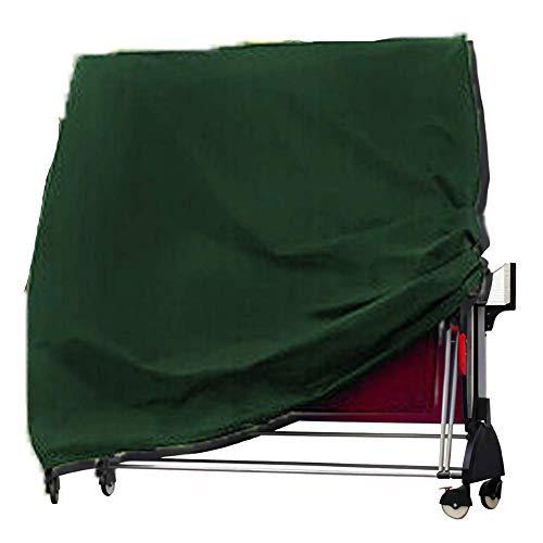 Funda Protectora para Mesa de Ping-Pong Impermeable Resistente al Polvo Anti-UV Protección Oxford,165x70x185cm