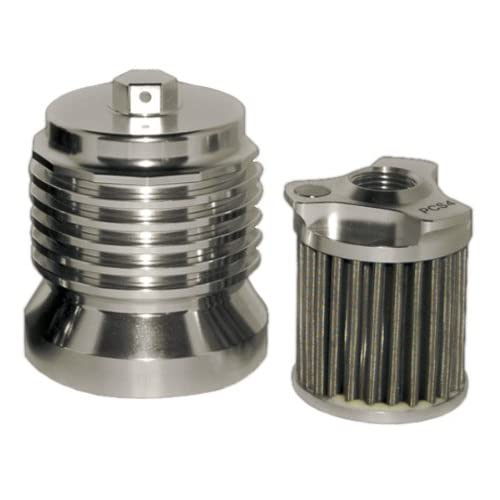 PC Racing PCS5 Stainless Steel Flo Oil Filter