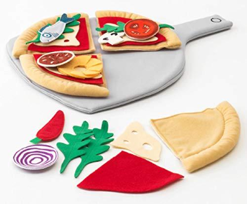 IKEA Duktig 104.235.94 Pizza-Spielnahrungsset 24-teilig Alter 3 Jahre Plus Bunt