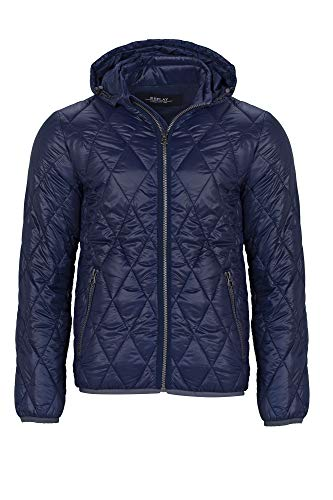 Replay Herren M8854 .000.82488 Jacke, Blau (Ink Blue 714), Large