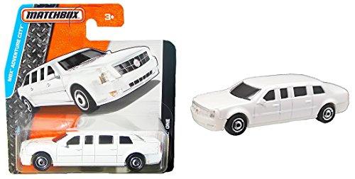 Matchbox Cadillac One Weiß - Stretchlimousine Limo - MBX Adventure City