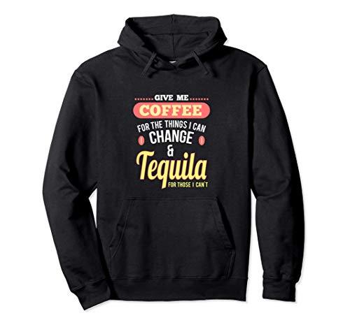 Spaß Kaffee und Tequila Shots Margarita Drinks Pullover Hoodie