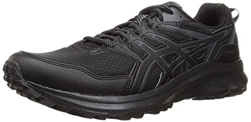 Asics Trail Scout 2, Zapatillas para Carreras de montaña Hombre, Black/Carrier Grey, 46.5 EU