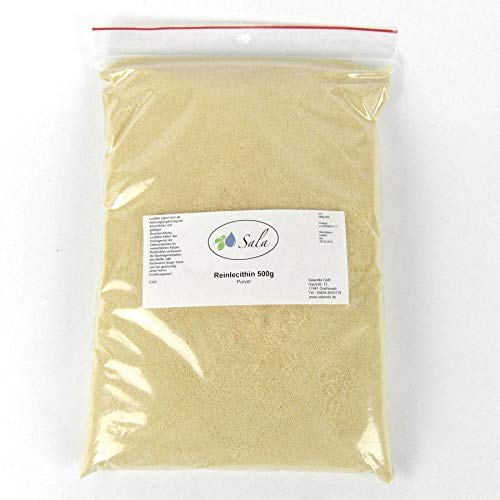 Sala Reinlecithin Sonnenblumenlecithin Pulver E322 konv. 500 g